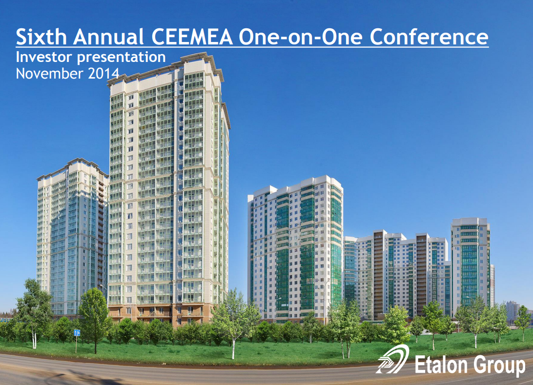 Sixth Annual CEEMEA One-on-One Conference
