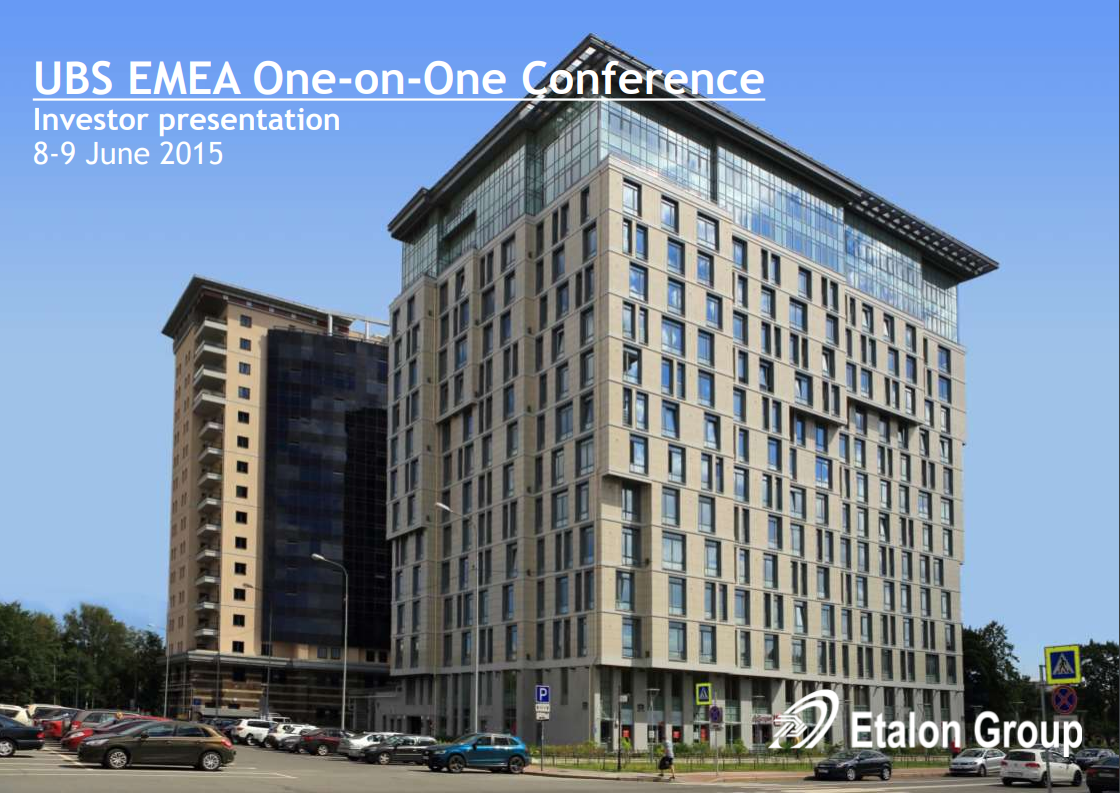 UBS EMEA One-on-One Conference
