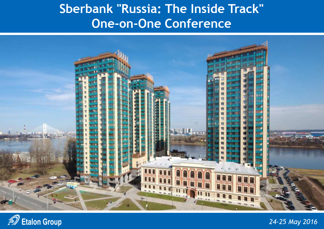 "Sberbank ""Russia: The Inside Track"" One-on-One Conference"