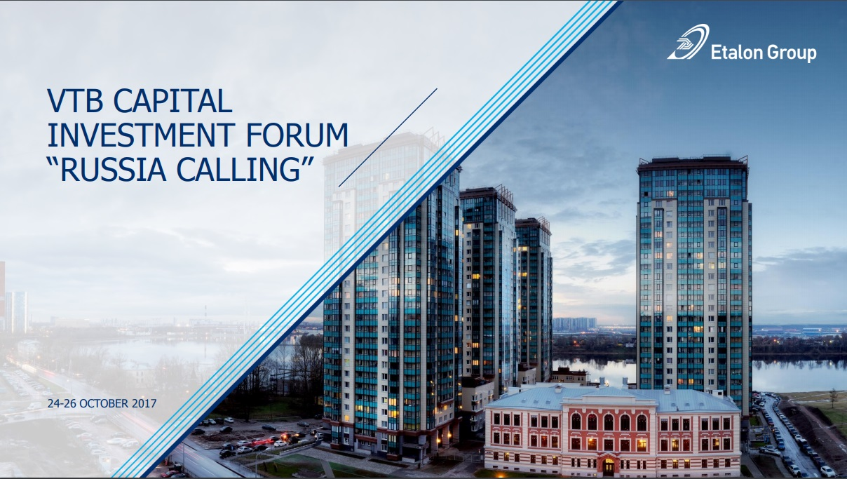 "VTB Capital ""Russia Calling"" Investment Forum presentation 2017"