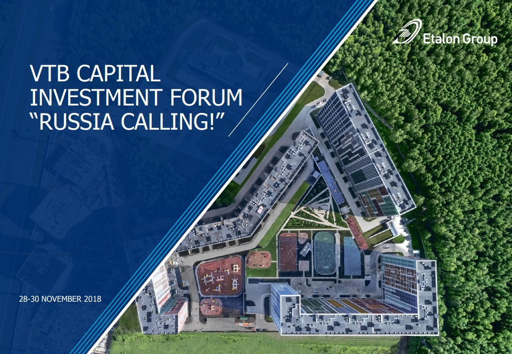 "VTB Capital ""Russia Calling"" Investment Forum presentation 2018"